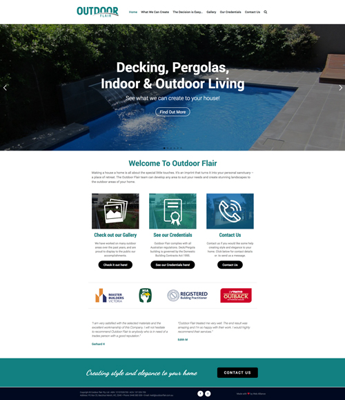 outdoor-flair-website-design