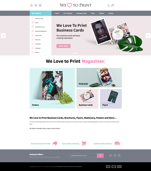 we-love-to-print-website-design